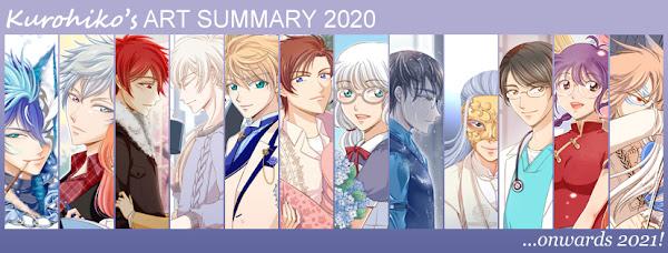 Kurohiko's 2020 Art Summary