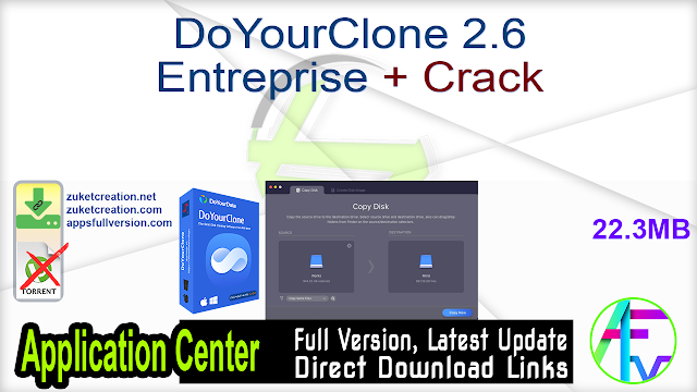 DoYourClone 2.6 Entreprise + Crack
