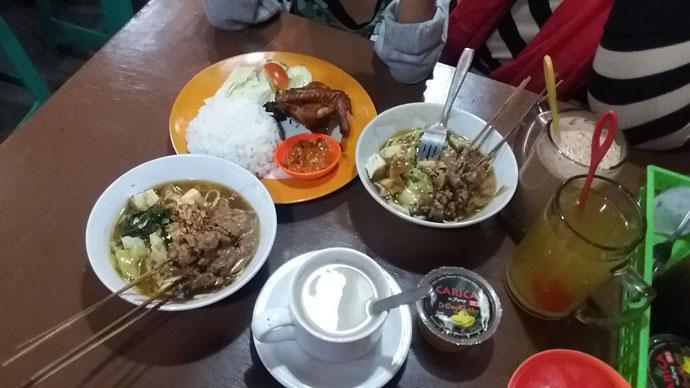 Mie Ongklok Sate jajanan khas Dieng Banjarnegara