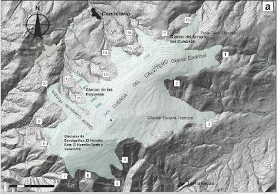 Glaciares de la sierra de Béjar