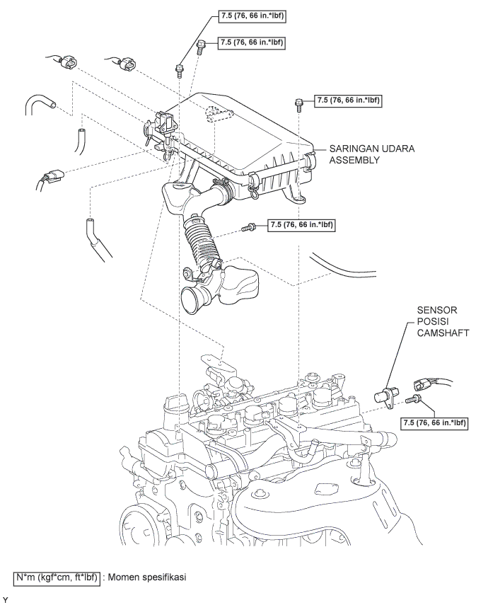 Avanza Veloz Camshaft Position Sensor Toyota Avanza