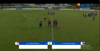 Piala AFF U-18: Indonesia Bantai Filipina 7-1
