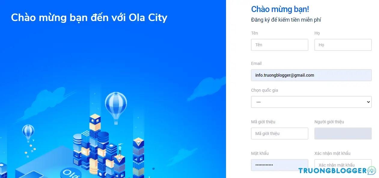 """Hướng dẫn cách kiếm tiền online trên Ola City """"đơn giản dễ làm"""""""