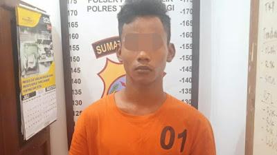 Rampas Hp Siswi MAN, Pemuda di Tebingtinggi Ditangkap Polisi
