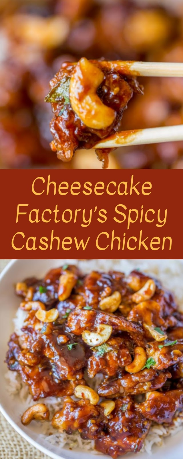 Cheesecake Factory's Spicy Cashew Chicken