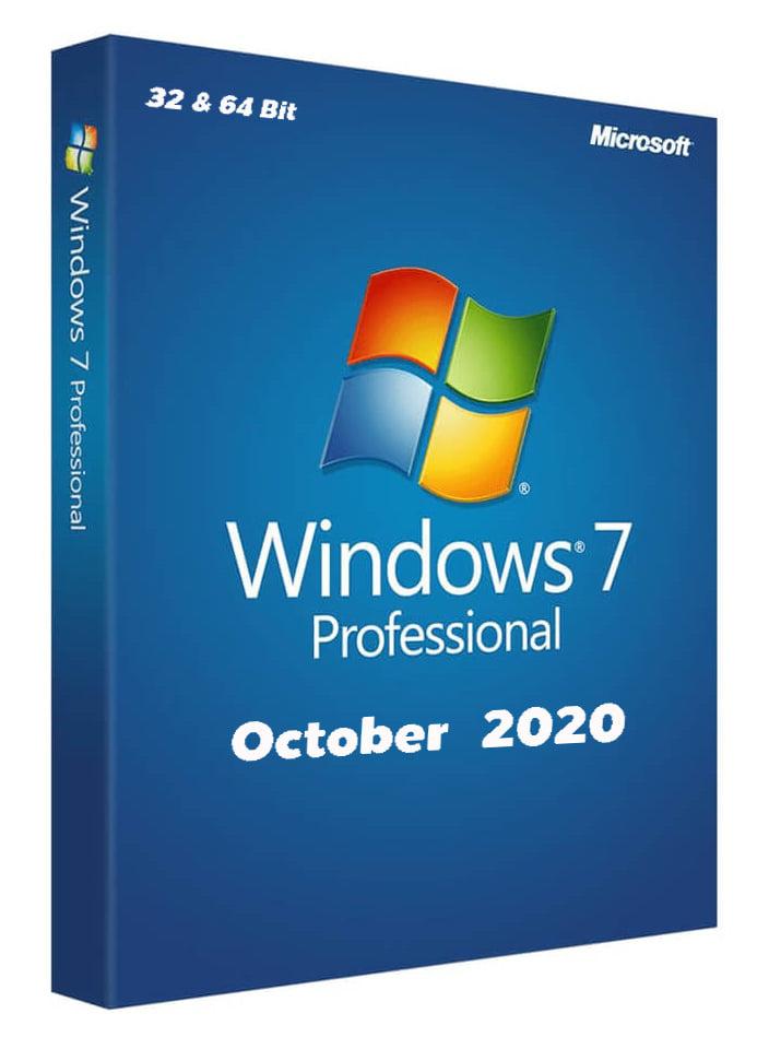 ويندوز 7 النسخة الاصلية 2020 للنواتين 32.64 Download Windows 7 2020
