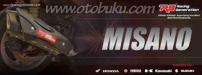 Harga Knalpot R9 Misano Terbaru dan Terlengkap
