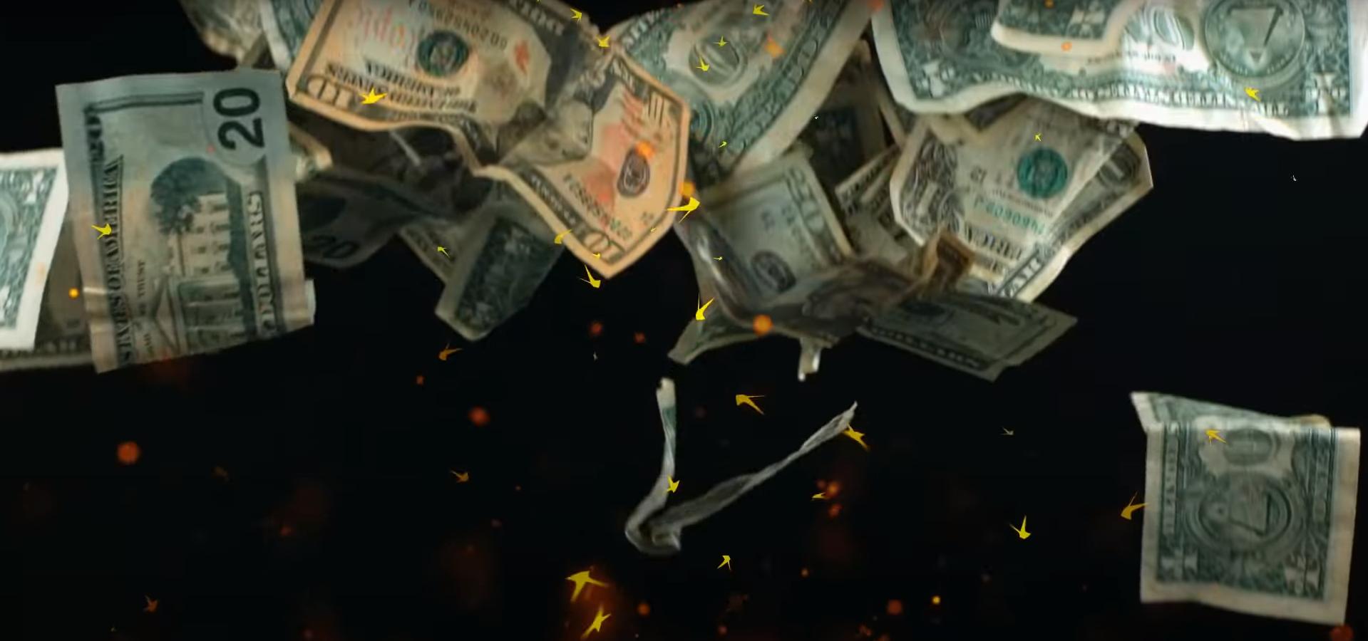 Деньги падают с неба