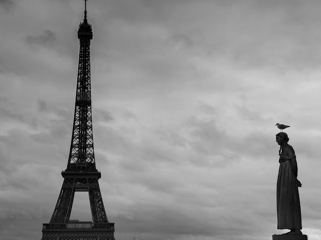 Time stopped in France through black and white photos