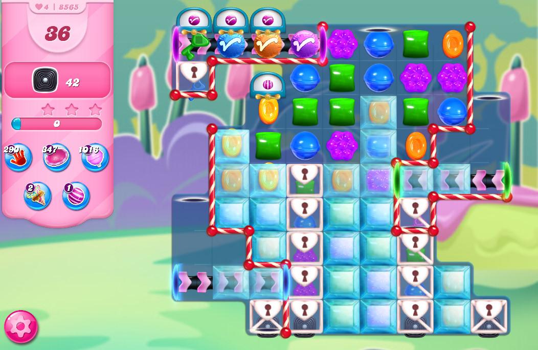 Candy Crush Saga level 8565