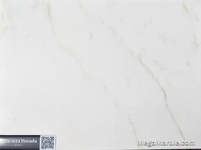 Quartz Stone Color calacatta dorada v727