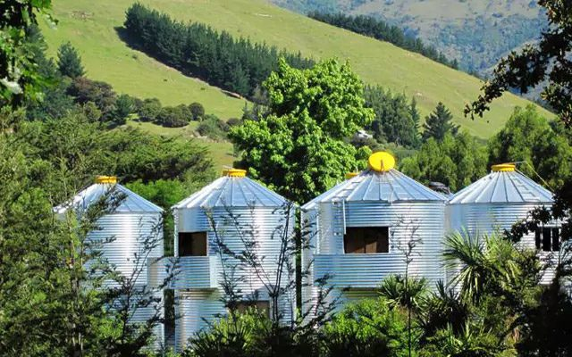 4. SiloStay Hotel, Little River, New Zealand:
