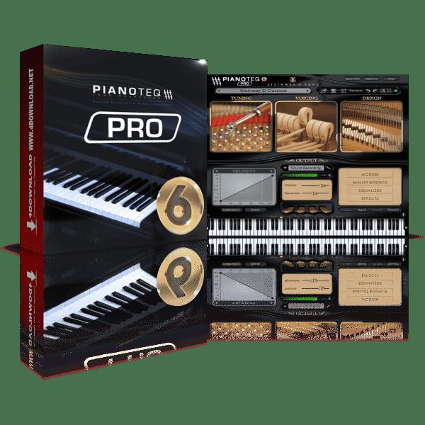 Pianoteq 6 PRO v6.7.0 Full version