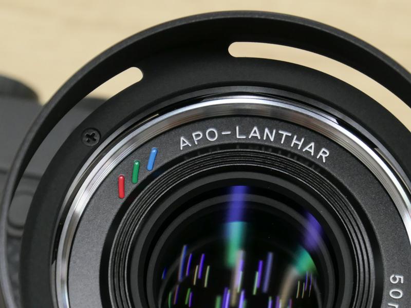 Передняя линза Voigtlander APO-LANTHAR 50mm f/2 Aspherical VM