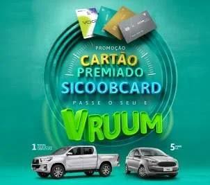 Promoção Cartão Sicoob Premiado Carros 0KM - Passe O Seu Vruum