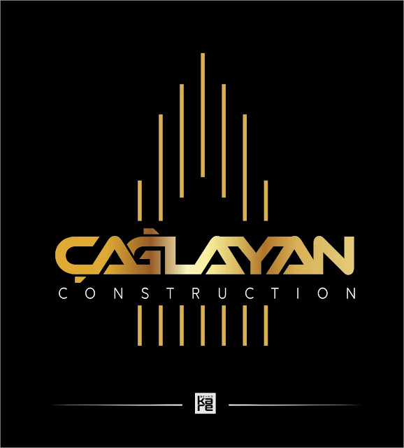 Construction İnşaat Gayrimenkul Logo Tasarımı