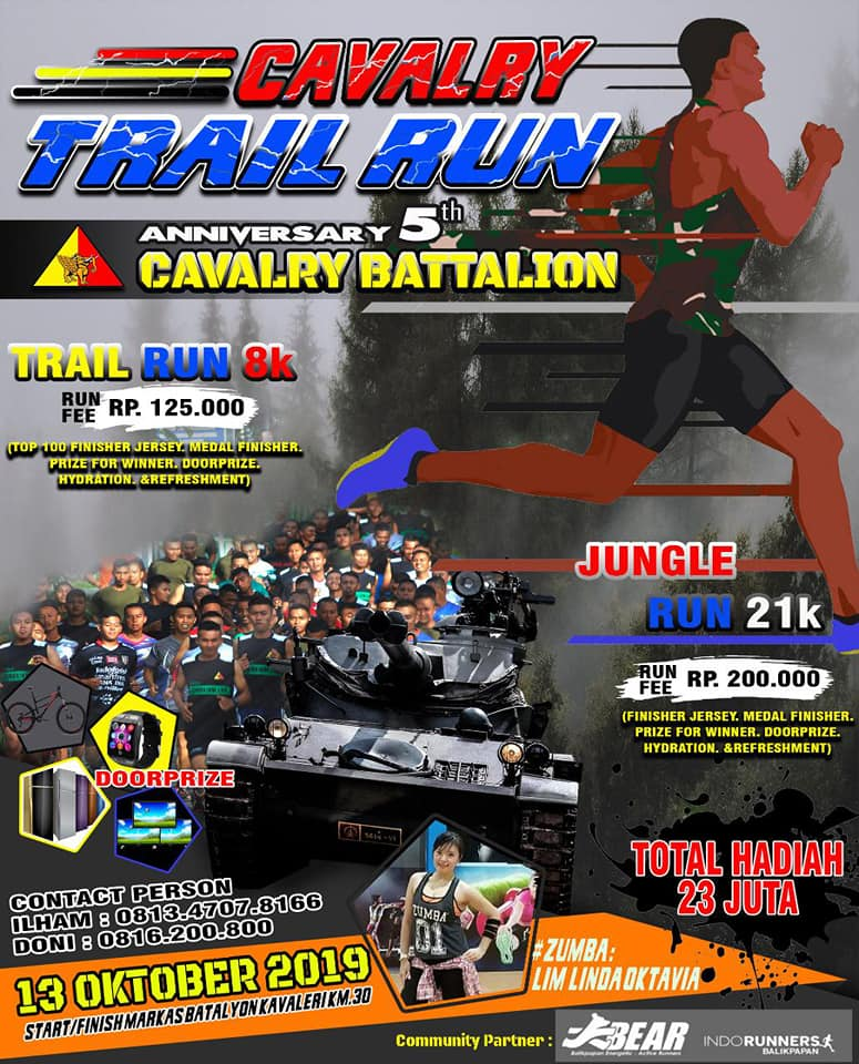 Cavalry Trail Run • 2019
