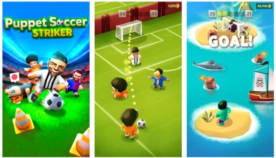 Puppet Soccer Striker Mod Apk