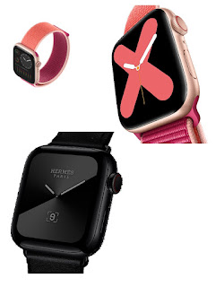 new smart watch from Apple Titanium and Ceramic