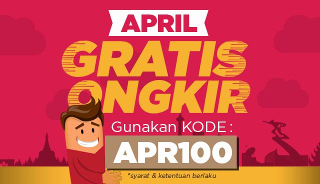 promo belanja online gratis ongkir bulan april 2017
