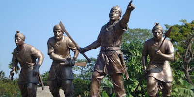 "Chief Minister Sarbananda Sonowal today said the Assam government would celebrate Lachit Divas at various state capitals in the country from next year to promote the ideals of Lachit Borphukan -- the legendary general of Assams history. Taking part in the Lachit Divas celebration at the statue of the General at Brahmaputra riverfront here, Sonowal said Borphukan is one of the best examples of heroism and patriotism in world history. Lachit Borphukan was a commander in the Ahom kingdom in Assam known for his leadership and valour in the 1671 Battle of Saraighat that thwarted a drawn-out attempt by Mughal forces under the command of Ramsingh I to take back Kamrup now modern day Guwahati. ""People all across the country and especially the youth, must know about his heroic deeds and how he fought for his motherland even when he was severely ill. The youth must emulate his ideals and get inspired by his vision and patriotism,"" Sonowal said. The first such countrywide celebration would take place in New Delhi followed by state capitals such as Hyderabad, Bangalore and Kolkata in a phased manner, he said. Sonowal also called upon the Assamese diaspora to join hands with the state government in successfully celebrating Lachit Divas in different parts of the country. Sonowal said a chapter on the life and accomplishments of the Ahom dynasty 17th century army General Lachit Borphukan would be included in the school curriculum. He also said the park in front of Lachit Borphukans statue on the bank of River Brahmaputra would be shortly developed as part of the Smart City mission reflecting the rich legacy of Borphukan. Cultural Affairs Minister Naba Kumar Doley in his speech highlighted the secular nature of Lachit Borphukans character citing the example of Ismail Siddiqui alias Bagh Hazarika who was one of his able lieutenants in the fight against Mughals. Doley also urged the people to follow Lachit Borphukans footsteps to maintain peace and harmony amongst all communities in the state."
