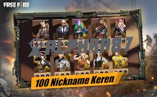 100 Stock Symbol Nickname Free Fire Keren