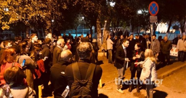 Καλαμαριά: Ξύλο από ΕΛ.ΑΣ. & «αλληλέγγυους» για να δεχθούν οι Έλληνες κάτοικοι την εγκατάσταση παράνομων αλλοδαπών (vid)