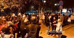 Ένταση  στο Δήμο Καλαμαριάς με τους παράνομους μετανάστες που μεταφέρονται σωρηδόν και τους κατοίκους της περιοχής που αντιδρούν στην μετα...