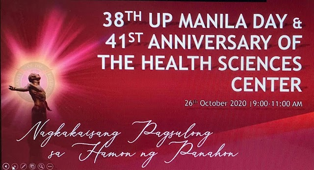 38th UPM DAY: UP MANILA SERVICE AWARDEES FROM UPCD