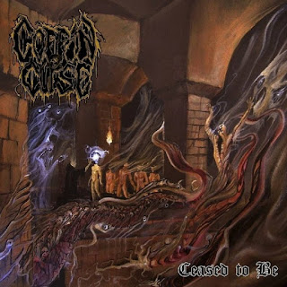 "Coffin Curse - ""Ceased To Be"" - 2020, Old School Death Metal"