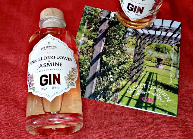 Pink Elderflower and Jasmine gin