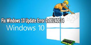 """إصلاح الخطأ 0x80240034 في نظام التشغيل Windows 10 يرجع الخطأ 0x80240034 في نظام التشغيل Windows 10 إلى عدم قدرة Windows Update على تنزيل الملفات المختلفة التي يتطلبها لإجراء التحديثات التي يتطلبها Windows.  يُعرف الخطأ تحديدًا باسم الخطأ """"WU_E_DOWNLOAD_FAILED"""" ، وهذا يعني بشكل أساسي أن النظام لم يقم بتنزيل ملفات """"Windows Update"""" الصحيحة.  تعني المشكلة الناتجة أن نظامك غير قادر على إدارة التحديثات المطلوبة للتشغيل ، مما يؤدي بالنظام إلى إظهار سلوك خاطئ.  لإصلاح المشكلة ، تحتاج بشكل أساسي إلى حل أي من المشكلات الأساسية التي تمنع Windows Update من تنزيل الملفات المناسبة - يأتي هذا في شكل امتلاك القدرة على إصلاح أمثال خدمة Windows Update ، فضلاً عن القدرة على الإصلاح أي من تطبيقات البرامج الأساسية التي تتكامل مع Windows.  ستظهر رسالة الخطأ بشكل عام على النحو التالي:  فشل التثبيت - 0x80240034  عادة ما تكون أسباب الخطأ:  مشاكل الاتصال بالإنترنت  أخطاء / مشاكل خادم Microsoft Update  خطأ في حمولة التحديث نفسها  خطأ متنوع آخر في التحديث (ربما مشكلة فيروس / برنامج طرف ثالث)  تتمثل طريقة حل الخطأ في التأكد من أن الملفات المختلفة التي يتطلبها Windows Update للعمل بشكل صحيح. يمكن القيام بذلك باتباع الخطوات التالية:  1. قم بتشغيل مستكشف أخطاء Windows Update ومصلحها  تتمثل الخطوة الأولى في تشغيل مستكشف أخطاء Windows Update ومصلحها.  هذه أداة مجمعة مع Windows 10 (وأعتقد أن Windows 7) تسمح لك بتنظيف أي من المشكلات التي قد يواجهها Windows من خلال عمليات """"التحديث"""" الأساسية الخاصة به.  للقيام بذلك ، يمكنك اتباع الخطوات التالية:  اضغط على مفتاحي """"Windows"""" + """"I"""" بلوحة المفاتيح (يتم تحميل """"الإعدادات"""")  انقر فوق """"التحديث والأمان""""  في اللوحة اليمنى ، حدد """"استكشاف الأخطاء وإصلاحها""""  من القائمة التي تظهر ، حدد """"Windows Update""""  انقر فوق """"تشغيل مستكشف الأخطاء ومصلحها""""  دع العملية تعمل  بعد الانتهاء ، أعد تشغيل الكمبيوتر  من المحتمل ألا يؤدي هذا إلى إصلاح الخطأ ، ولكن يجب أن يحل غالبية المشكلات التي تتشكل مع خدمة التحديث.  2. قم بتشغيل SFC + DISM  بعد القيام بما سبق ، تحتاج إلى تشغيل أوامر SFC + DISM.  هذه تطبيقات صغيرة قائمة على سطر الأوامر داخل نظام Windows ، مصممة لتزويد المستخدمين بالقدرة ع"""