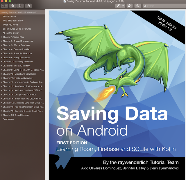 Saving Data on Android