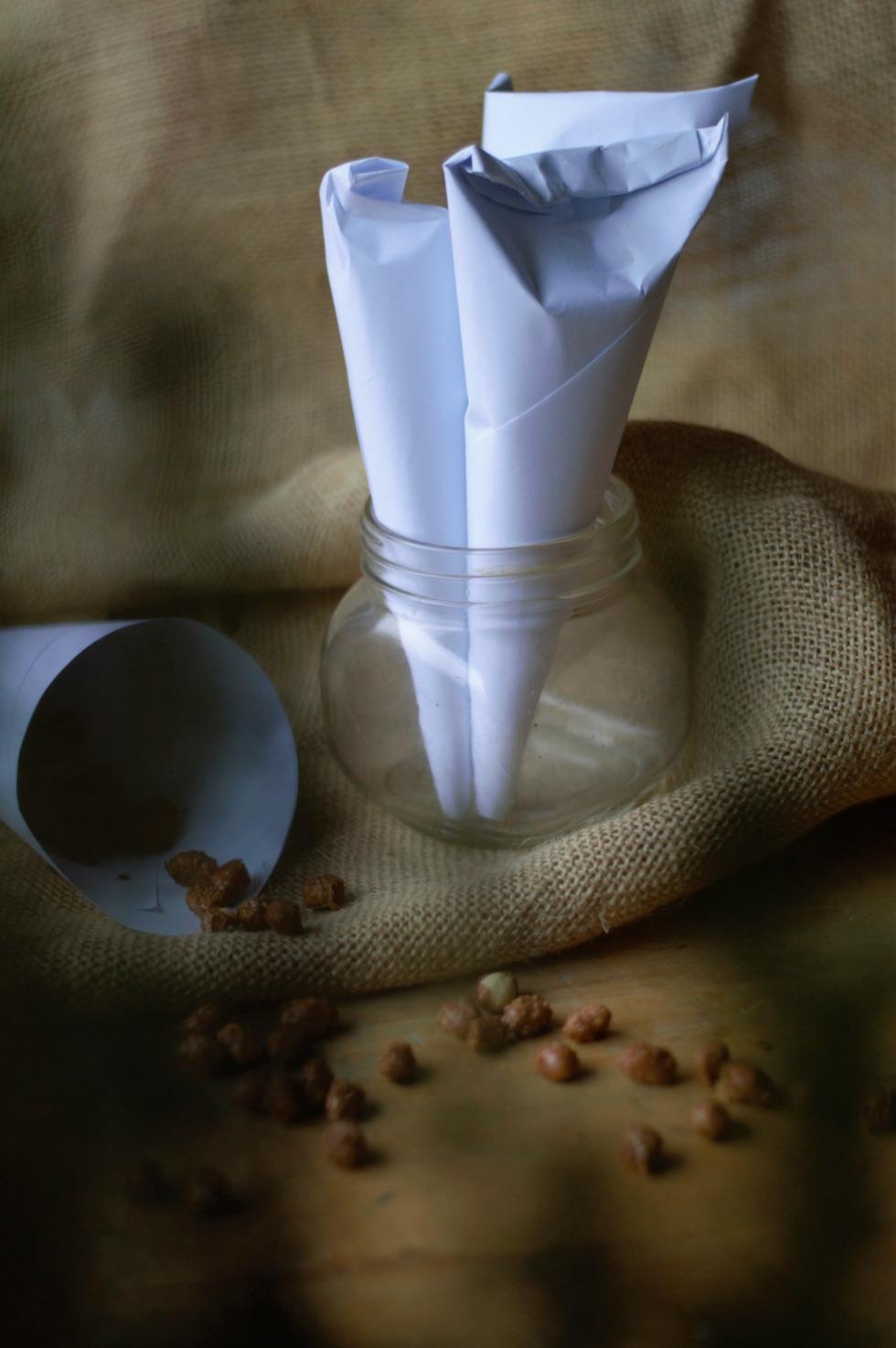 sokerihuurrutetut maapähkinät