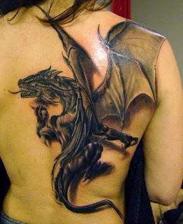 Dragon-Tattoo-On-Back
