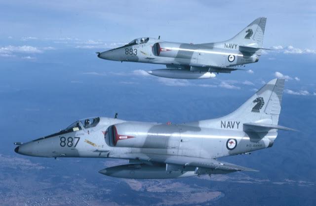 A-4 Skyhawk buatan Amerika