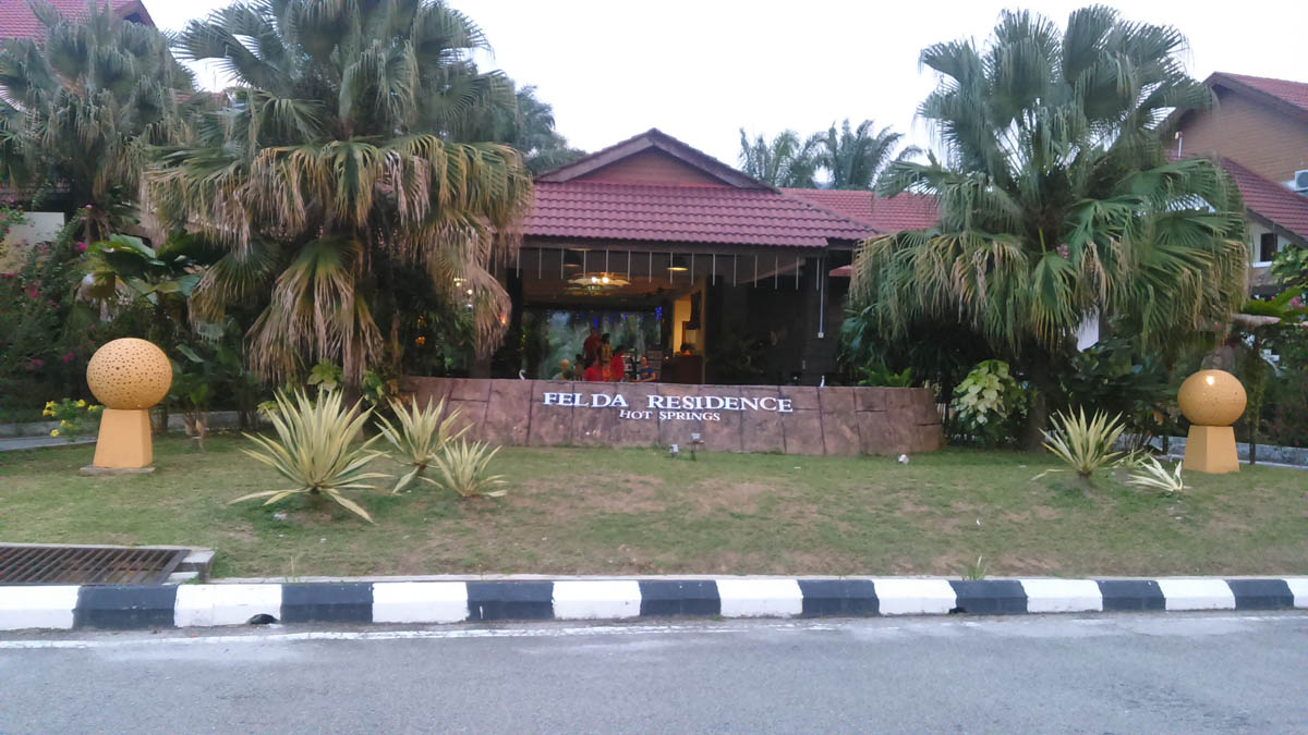 Sungai klah hot springs -  Felda Hot Spring Sungai Klah Once You Are Near The Junction Enter It You Have To Drive Yourself Toward The Oil Palm Plantation Area Long Before You