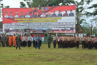 Danlantamal II Padang Resmi Tutup TMMD Wilayah Kodim Mentawai