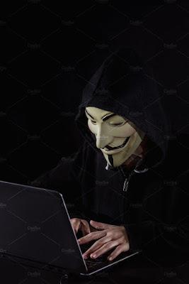 Cool hacker photo