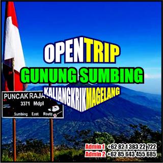 Open Trip Pendakian Gunung Sumbing Via Kaliangkrik Magelang Jawa Tengah 2H1M