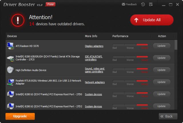 برنامج ضروري للحاسوب لتحديث تعارف الجهاز بظغطة زر IObit Driver Booster PRO 5.1.0.488