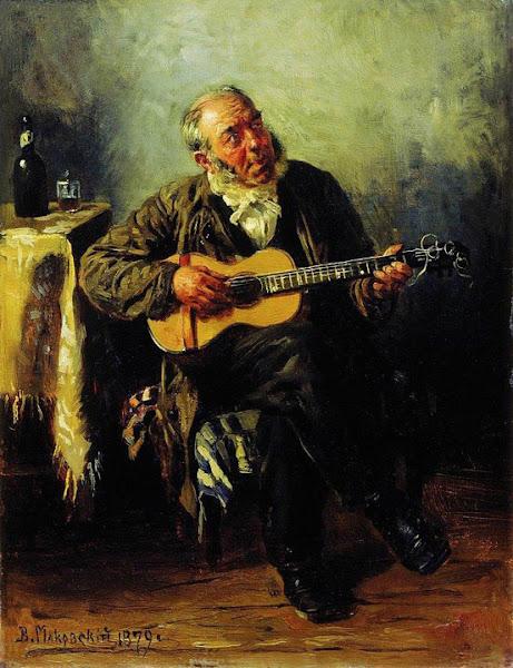 Маковский Владимир Егорович - Гитарист. 1879