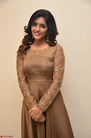 Eesha looks super cute in Beig Anarkali Dress at Maya Mall pre release function ~ Celebrities Exclusive Galleries 068.JPG