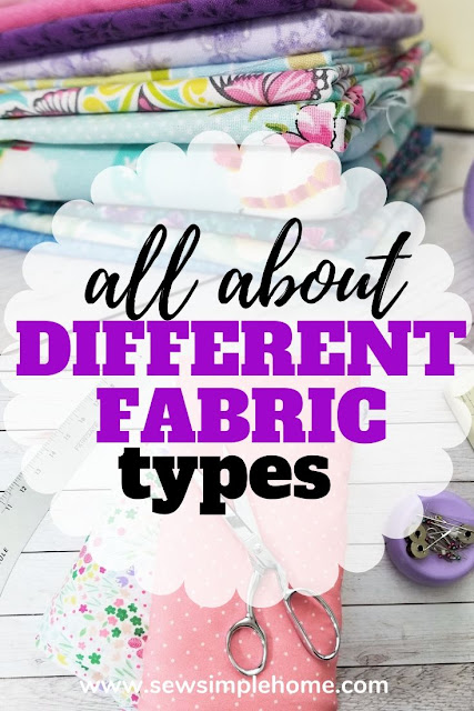 Simple guide for novice sewists on how to understand different fabric types and what fabrics are best for sewing projects.