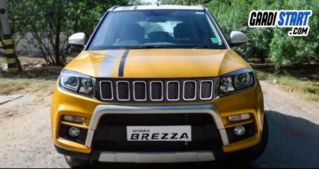 Maruti Suzuki Brezza Modification