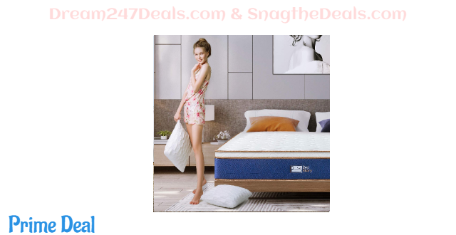 50%off BedStory 10 inch hybrid mattress