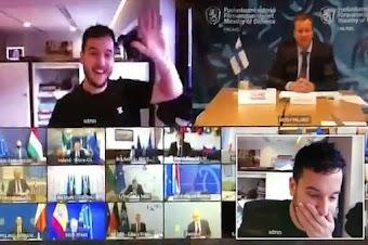 مثير: صحفي ينجح في اختراق اجتماع حكومي أوروبي سري على Zoom