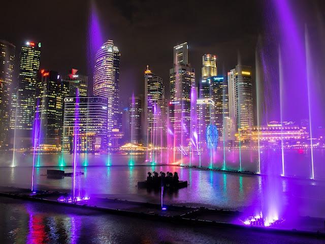 Chương trình ánh sáng miễn phí tại Singapore