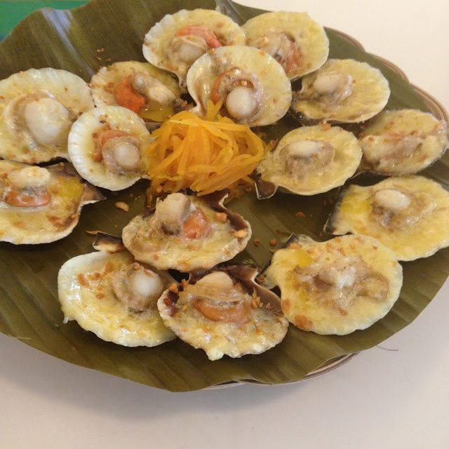 Cebu's best baked scallops