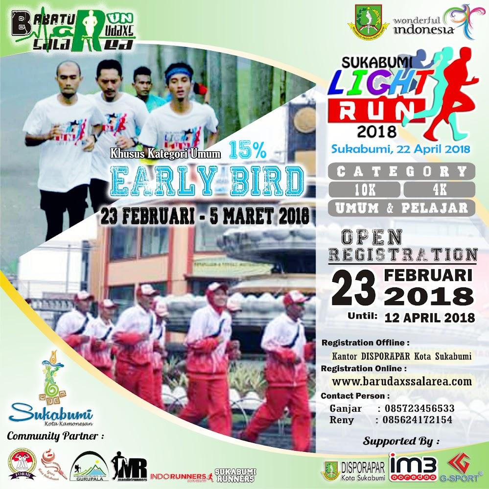 Sukabumi Light Run • 2018